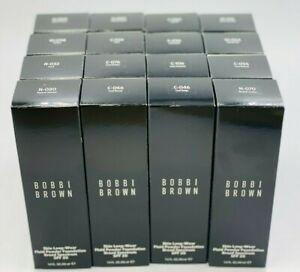 BOBBI BROWN Skin Long Wear Fluid Powder Foundation BS SPF 20 1.4oz NIB FREE SHIP