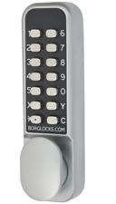 Borg Locks BL2201 EasiCode Pro Satin Chrome