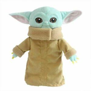 Grogu Star Wars Mandalorian Baby Yoda Children Kid Plush Toy 11in Ships from USA