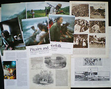PITCAIRN ISLANDS PACIFIC OCEAN 13 PAGES / PRINTS / ARTICLES 1852-1983
