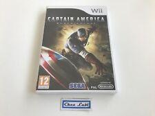 Captain America Super Soldat - Nintendo Wii - PAL FR - Neuf Sous Blister