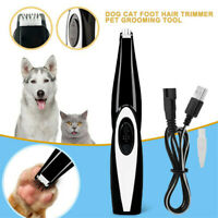 Electric Pet Grooming Local  Cat Dogs Foot  Trimmer Clipper Shaver Low Noise