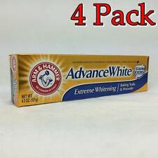 Arm & Hammer Dental Care Advance, Frosted Mint, 4.3oz, 4 Pack 033200186601X220