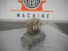 275-214 12VDC Relay 3A 25VAC & Square D 8501-NR45 Relay Socket Used W/ Warranty