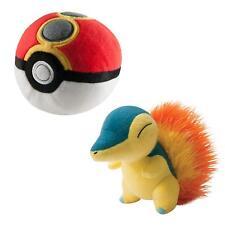 TOMY Pokemon Plush Figure Cyndaquil with Repeat Poke Ball