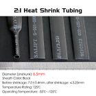 Dia 6.5mm Heat Shrink 2:1 Tubing Electrical Sleeving Heatshrink Wrap Cable Black