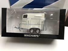 Minichamps remorque bétaillère horse trailer 2006 1:43 ref 400905120 new neuf