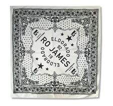 RO James El Dorado White Bandana New Official Merchandise Permission Rap Hip Hop