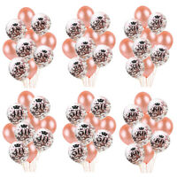 "10 X 10"" PEARL BALLOONS BALLON Helium Birthday Wedding Party 18/30/40/50/60th UK"