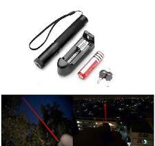 Ultra Puissant Pointeur laser  Rouge 1mw +clé de sécurité +batterie+chargeur