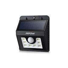 Lámpara LED Nocturna Sensor Luz Solar Movimiento Patio Exterior Seguridad Casa