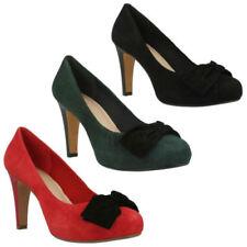 Calzado de mujer zapatos de salón Clarks ante