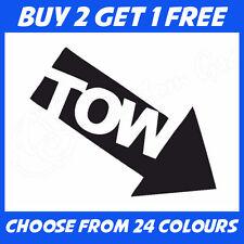 Tow Arrow JDM ANY COLOUR Race Euro Drift Car Bumper Sticker Window Vinyl Decal
