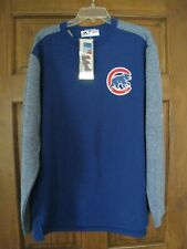 Chicago Cubs Men's Majestic Thermabase Pullover Sweatshirt Large with Tag - New