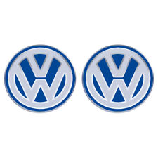 2 VW Logo Emblem Zeichen für Klapp Schlüssel Golf Polo Passat Original Key badge