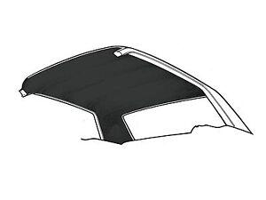 1965-1970 Mustang Coupe Headliner Black Moonskin
