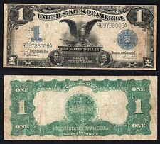 1 Dollar Silver Certificate United States  BLACK EAGLE 1899