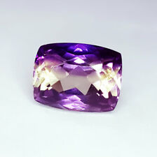 12.52 Loose Gemstone Natural Ametrine Ring Size Unheated Untreated Certified