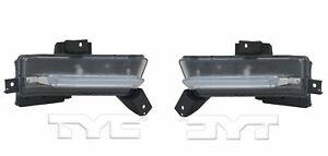 Left & Right Side Daytime Running Light For 2016-2017 Chevrolet Camaro SS