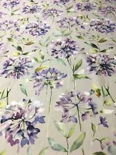 Voyage Decoration - Curtain Makers Fabric- Clovelly Violet  Available per Meter