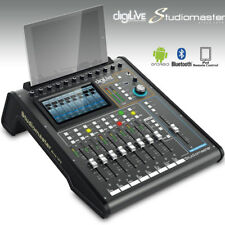 Studiomaster digiLivE 16 Mixer Digital Mixing Console Desk Motorised Faders