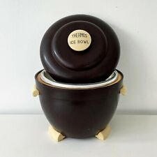 More details for vintage 1950's bakelite art deco ice bucket