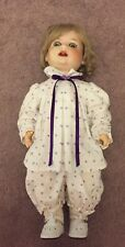 "Antique German Heubach Koppelsdorf Doll 19"" Bisque Jointed Open Mouth"