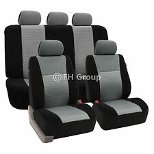3D Airmesh Full set Car seat covers, airbag compatible for Nissan