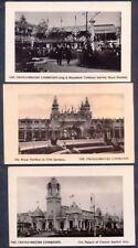 FRANCO-BRITISH EXHIBITION, 1908. THREE Vintage RP Postcards. Free UK Postage
