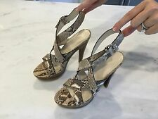 GUCCI Python Platform Shoe size 41 EXCELLENT CONDITION