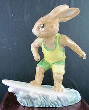 "Royal Doulton Bunnykins Figurine - ""Aussie Surfer"" Db133"