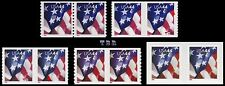 2009 USA 44c Flag Pairs 4391-95 4392 4393 4394 4395 Complete Set 5 MNH - Buy Now