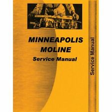 Service Manual - Z Minneapolis Moline Z Z