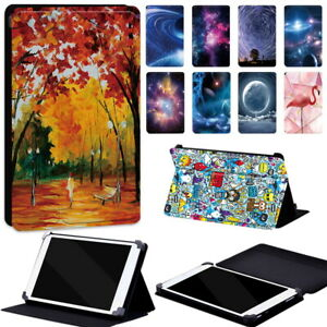 """Brand Painting Leather Case Flip Cover Fit Android Tablet 6"""" 7"""" 8.0"""" 9"""" 9.7""""10"""""""