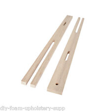 1 Pair headboard struts legs QUALITY HARDWOOD legs drilled & slotted MULTI FIX