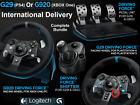 LOGITECH Driving G29 PS4 G920 XBOX ONE Steering Wheel Pedals + Gearstick Shifter