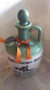 Vintage Tullamore Dew UISGE BAUGH Irish Whisky Jar  -50's to 70's WORLDWIDE SHIP