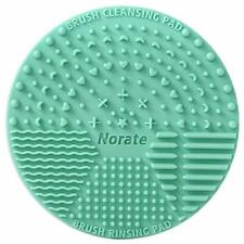 Brush Cleaning Mat,Silicone Makeup Cleaning Brush Scrubber Mat Portable