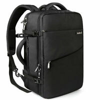 Inateck 30-40L Carry-On Travel Backpack for 15.6-17 inch Laptop Flight Approved