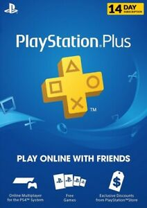 Ps Plus 14 Day Trial *INSTANT DELIVERY*