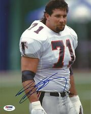 Bill Goldberg Signed ATL Falcons Football 8x10 Photo PSA/DNA COA WWE WCW Picture