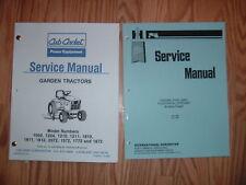 CUB CADET 1572 1772 1872 2071 SERVICE MANUALS SET 5