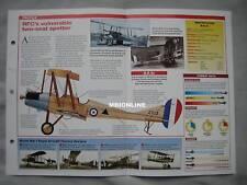 Aircraft of the World Card 33 , Group 14 - Royal Aircraft Factory B.E.2