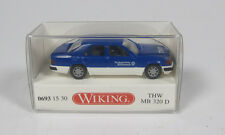 WIKING 6931530 MERCEDES BENZ MB 320D W124 THW BLUE 1/87 HO MADE IN GERMANY BLAU
