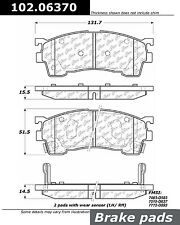 Centric Parts 102.06370 Front Semi Metallic Brake Pads
