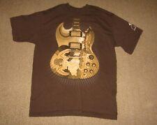 Eric Clapton 2010 North America Concert GuitarT-Shirt Size Medium