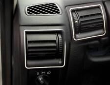 D Opel Astra G Chrom Rahmen für Lüftungsschacht außen - Edelstahl poliert