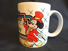 Disney Mickey Mouse BEST SECRETARY Mug Office Business Day Coffee Cup