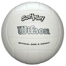 Outdoor Soft Play Volleyball Ball Beach Game Training Official Weight Size White