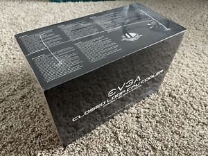 EVGA CLC 120 RGB AIO Closed Loop CPU Cooler 400-HY-CL12-V1 New Sealed Rare In US